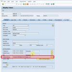 User master in SAP