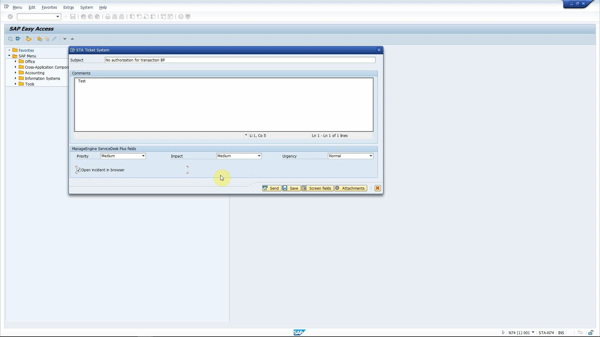 Integrate ManageEngine ServiceDesk Plus with SAP