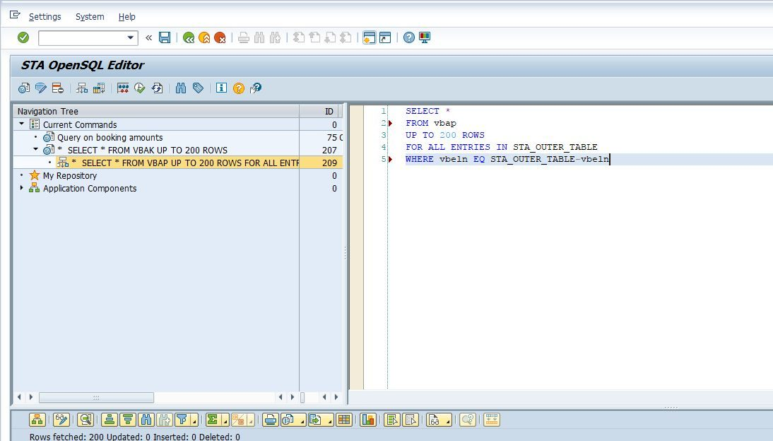 OpenSQL Editor for SAP - The missing piece from the ABAP