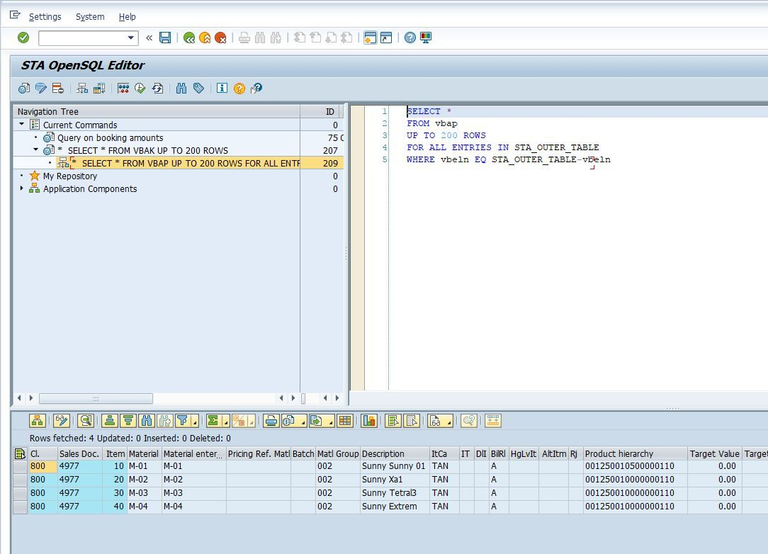 OpenSQL Editor for SAP - The missing piece from the ABAP development