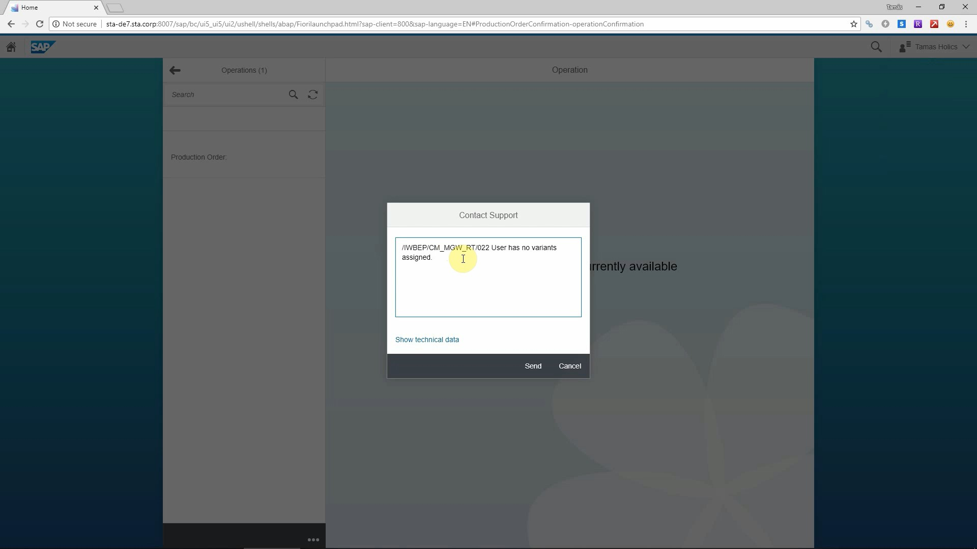 Create tickets in 3rd party tools from SAP Fiori, WebGUI and